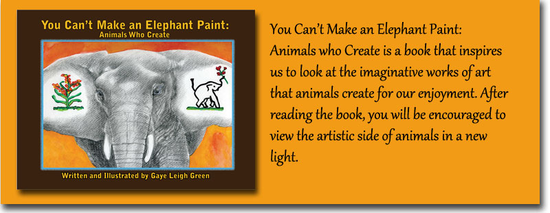 You Can't Make and Elephant Paint