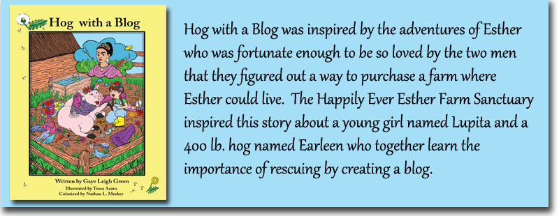 Hog with a Blog slide 1